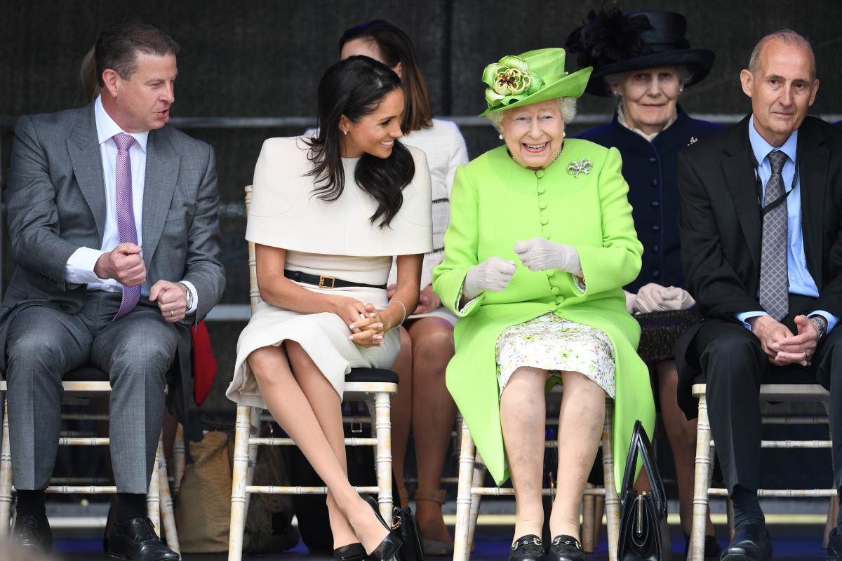 Meghan, Duchess of Sussex shares a laugh with The Queen in sweet pics