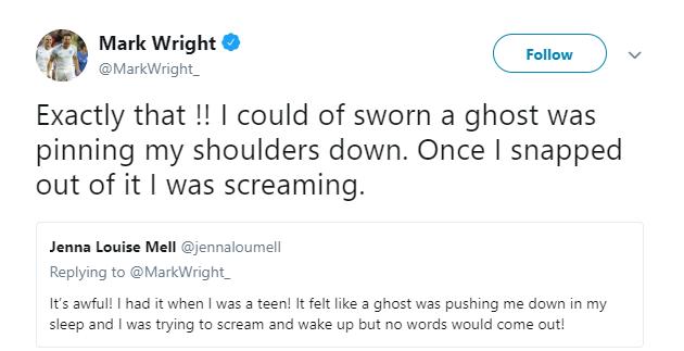 Mark Wright tweet