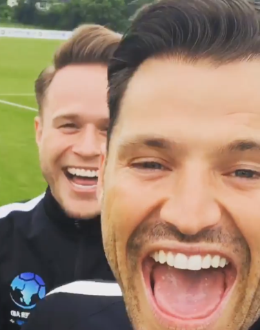 mark Wright and Olly Murs (Credit: Instagram)