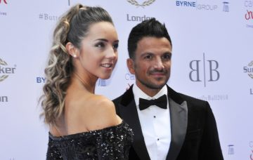 Peter Andre and Emily MacDonagh Attend The Caudwell Children Butterfly Ball In London