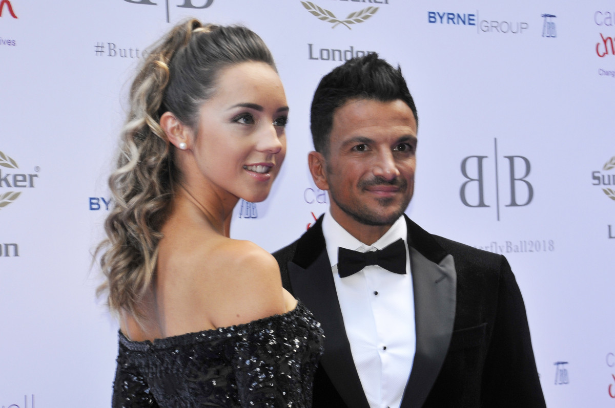Peter Andre supported by wife Emily as he hosts Butterfly Ball