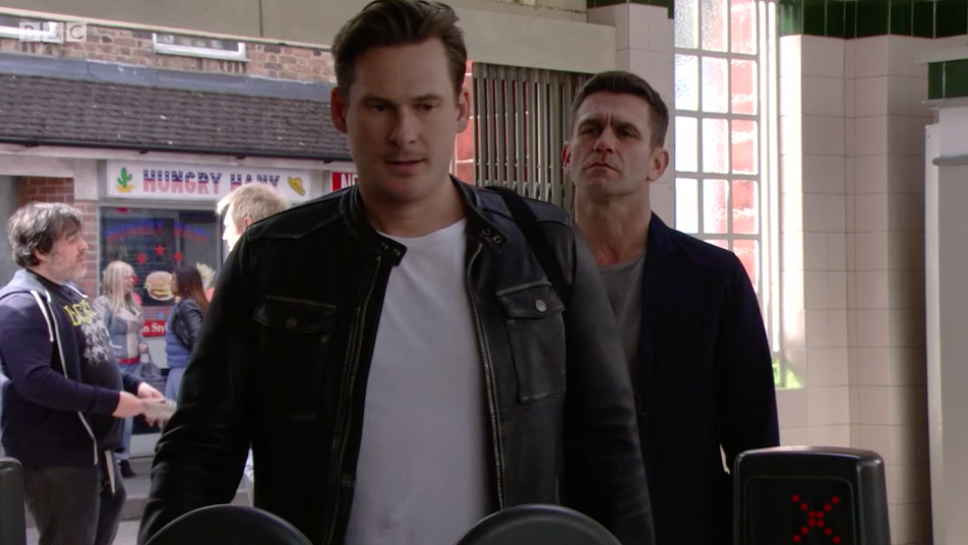 EastEnders' Woody revealed as the E20 thief