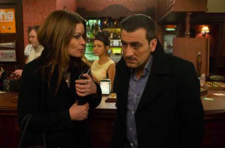 Peter Barlow and Carla Connor in Coronation Street