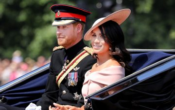Prince Harry and Meghan, Trooping the Colour 2018 - Royals join the Queen at birthday parade