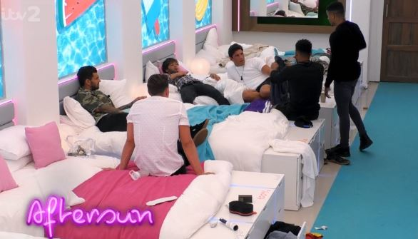 Wes Nelson tells the Love Island boys he could jump ship