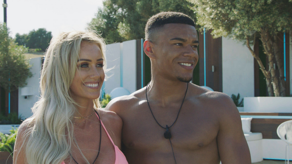 Love Island's Laura and Wes