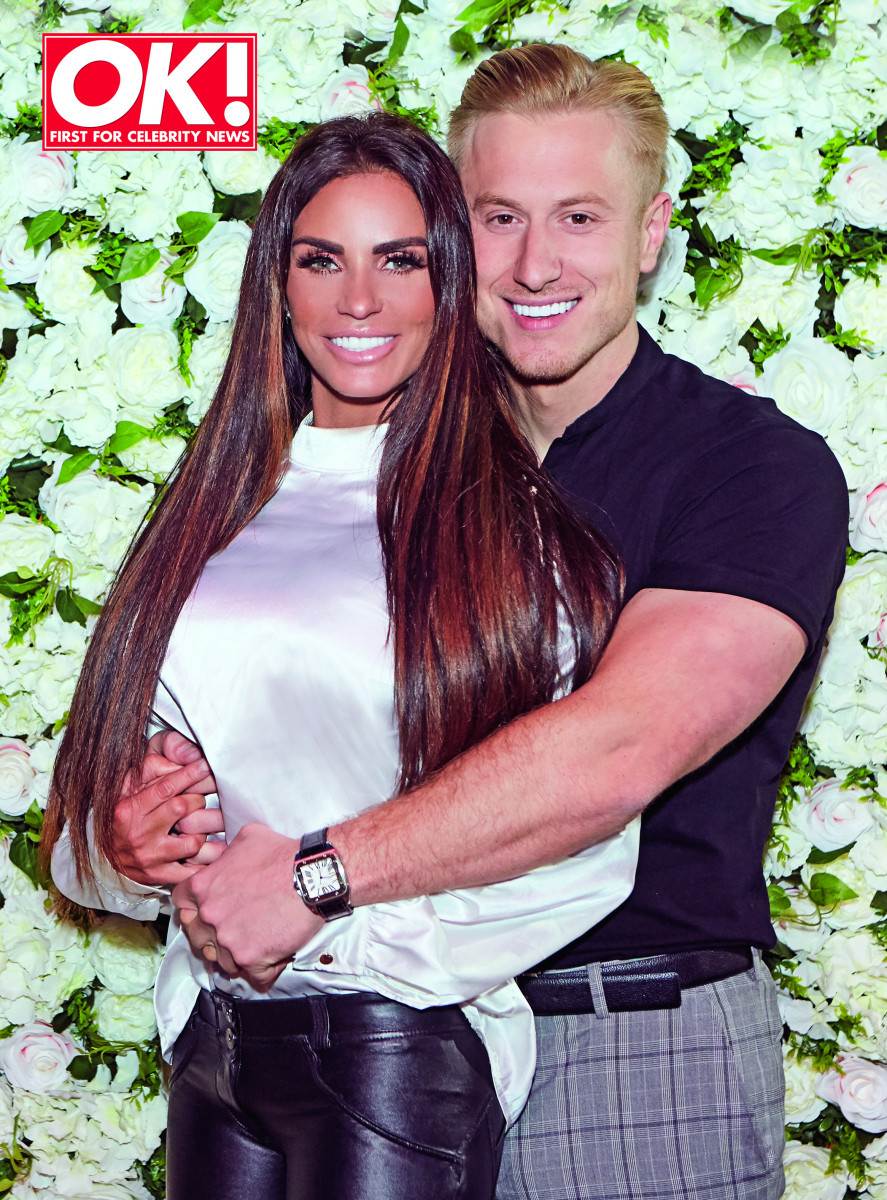 Katie Price and Kris Boyson for OK! magazine