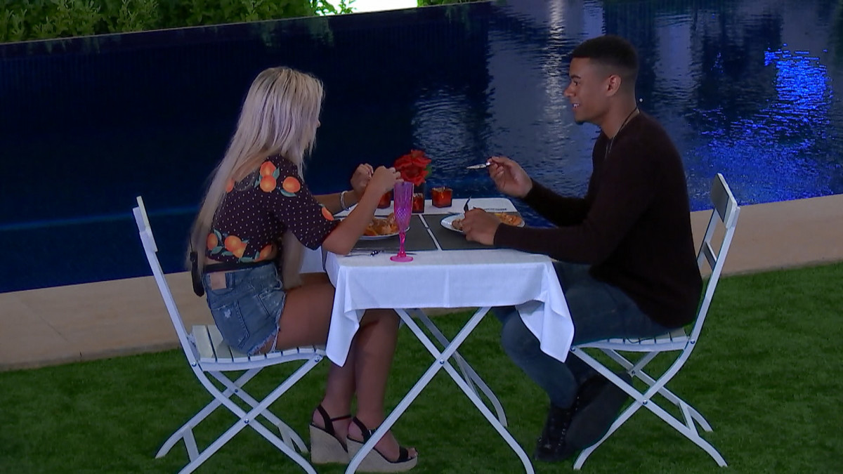 Love Island's Wes Nelson and Ellie Brown