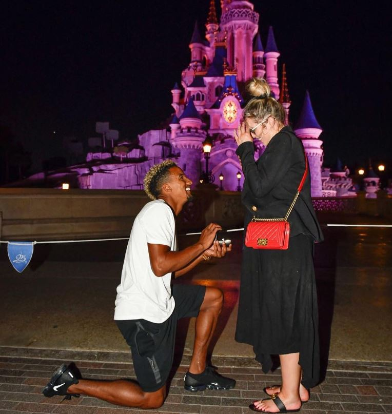 Scott Sinclair proposes to Helen flanagan