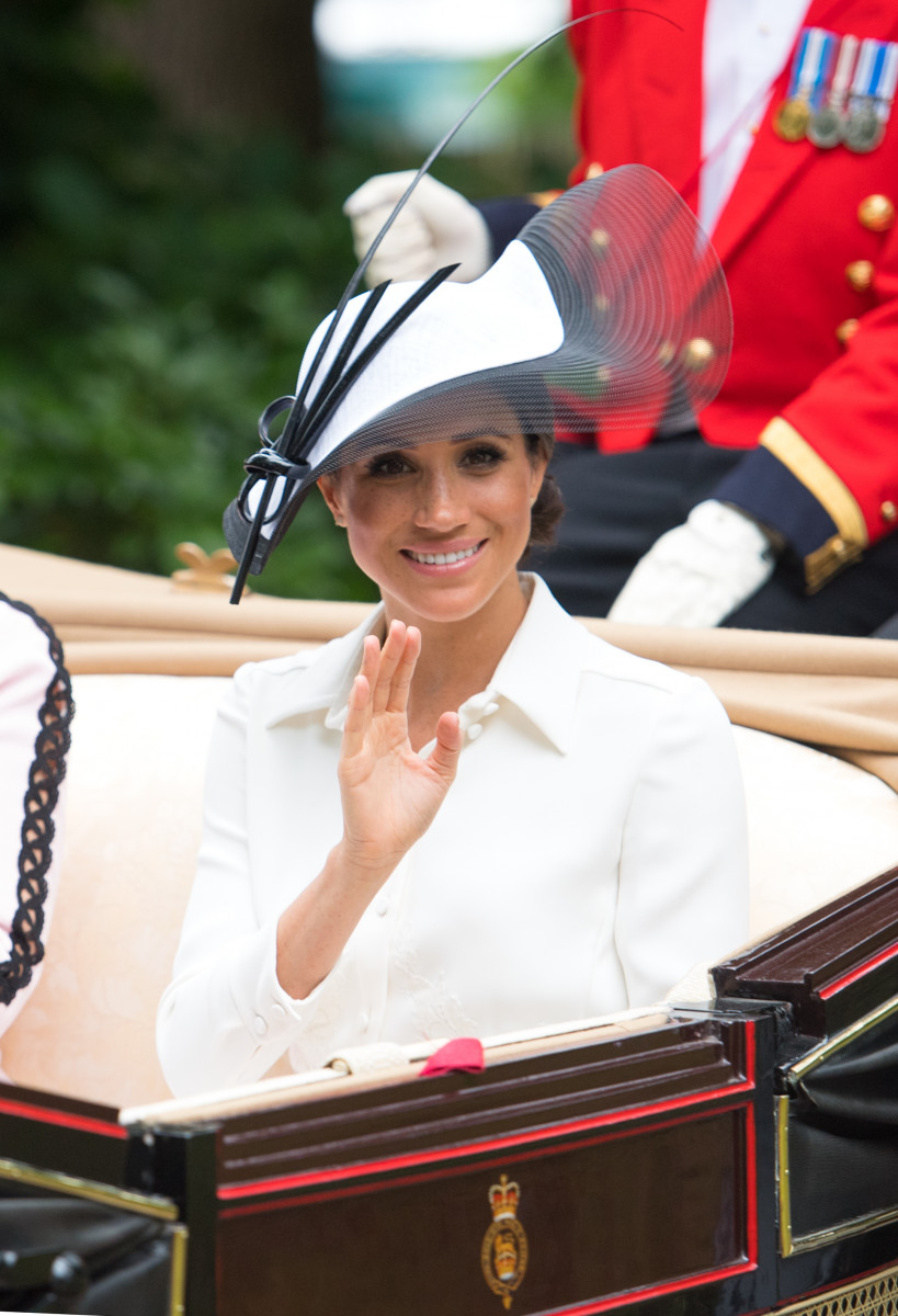 Meghan, Duchess of Sussex, Royals arrive on day one of Royal Ascot 2018