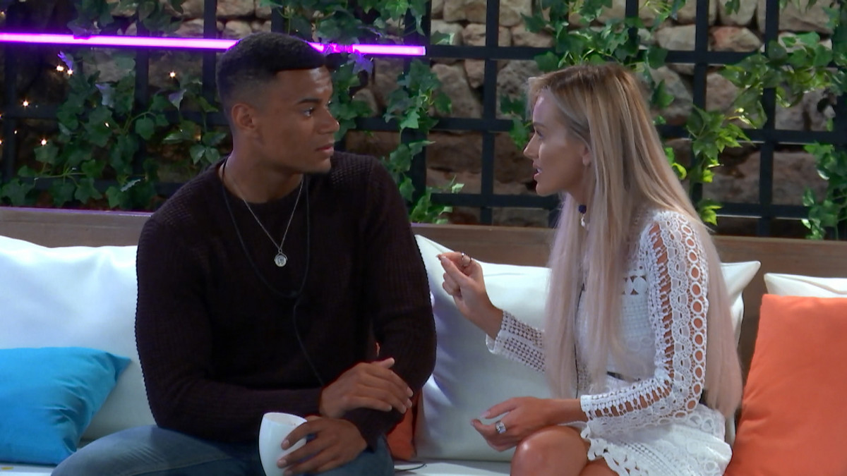Love Island's Laura Anderson and Wes Nelson