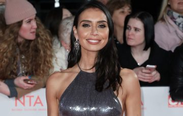 christine-lampard at the National TV Awards 2018 (Credit: Wenn)