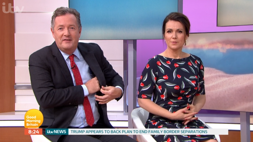 """Piers Morgan gets """"mugged off"""" after trying to making fun of Love Island star"""