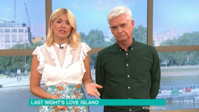 "Holly Willloughby blasts Love Island star over ""smug"" behaviour"