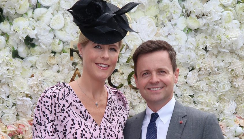 Dec Donnelly and pregnant wife Ali Astall attend Royal Ascot