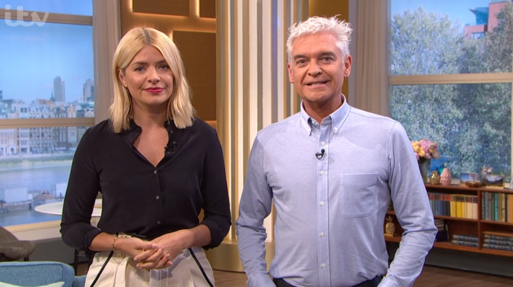 Phillip Schofield reacts to Holly Willoughby co-hosting I'm A Celebrity