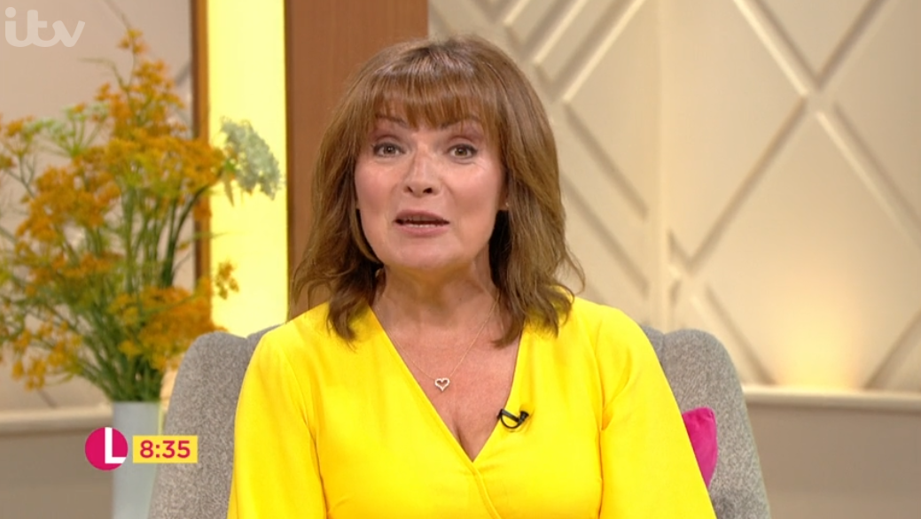 Lorraine Kelly delights fans by bringing special guest onto show