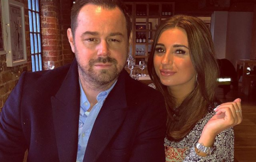 Danny and Dani Dyer (Credit: Instagram)