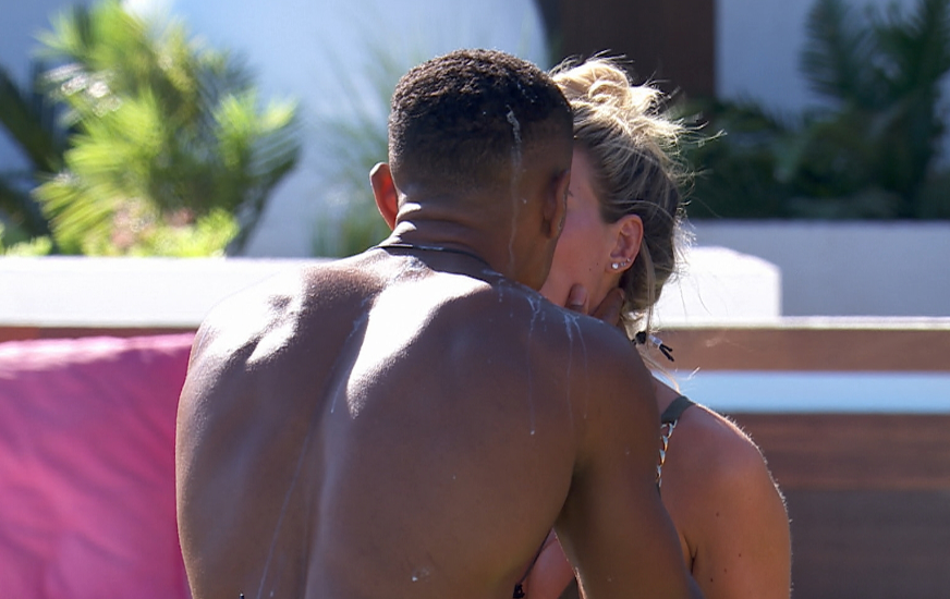 Love Island Wes and Megan (Credit: ITV2)