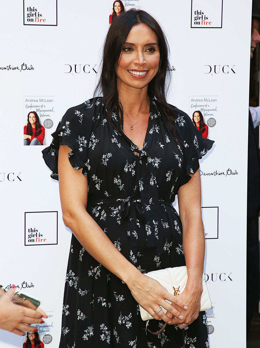Christine Lampard, Andrea McLean: Confessions of a Menopausal Woman - Book Launch Party,