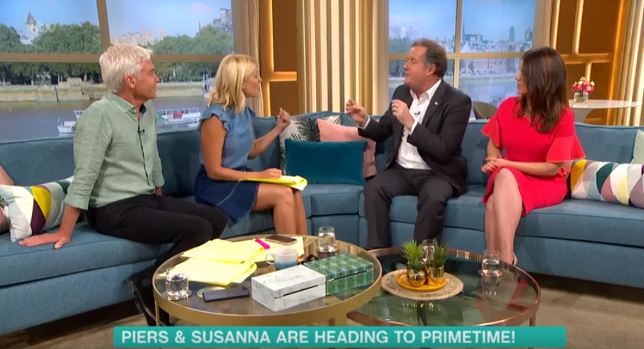 Piers Morgan clashes with Phillip Schofield and Holly Willoughby in Love Island rant