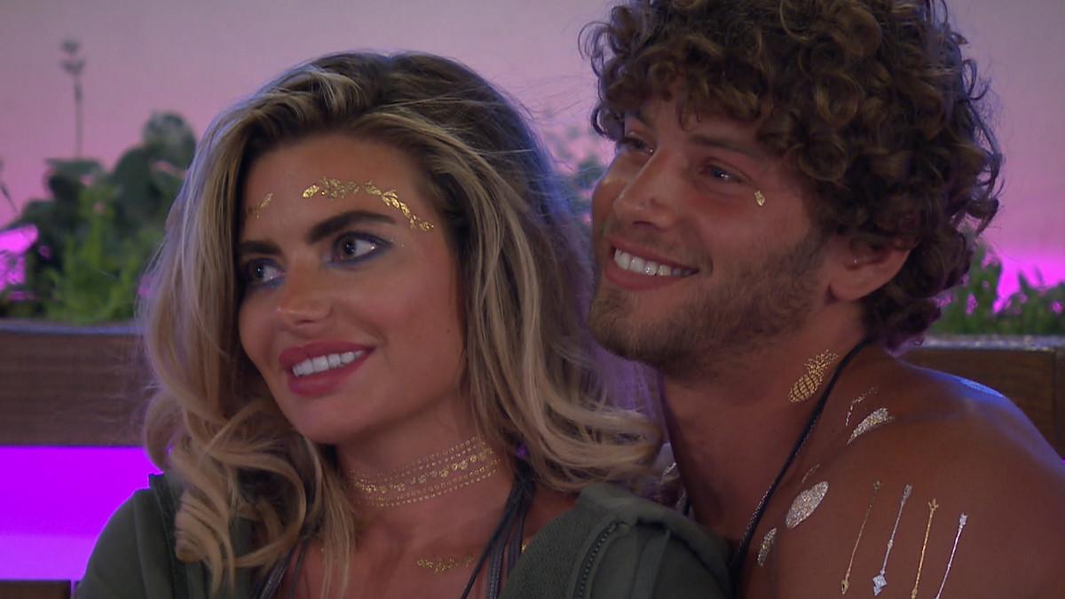 Love Island's Eyal and Megan