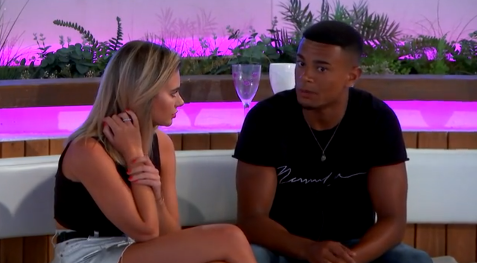 megan-and-wes on Love Island