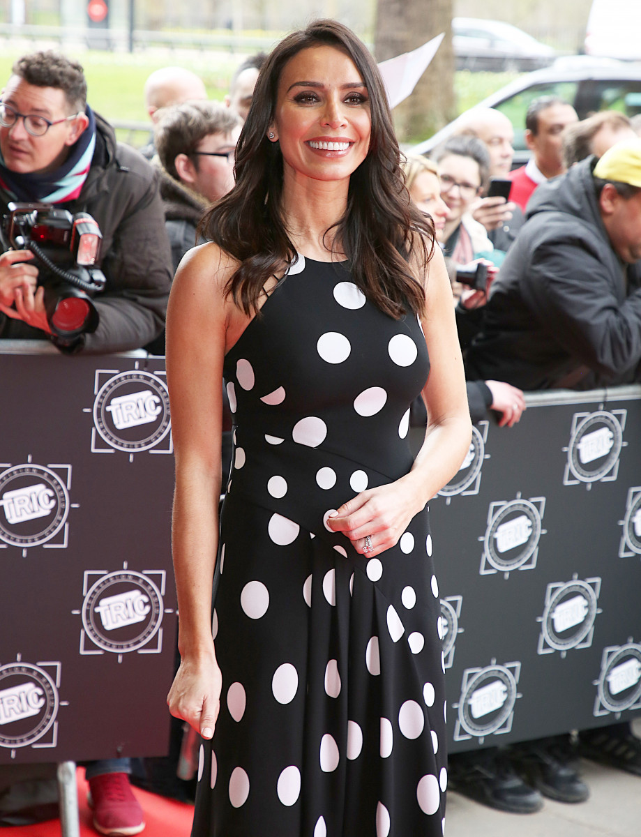 Christine Lampard, The TRIC Awards 2018, Grosvenor House, London UK, 13 March 2018, Photo by Brett D. Cove