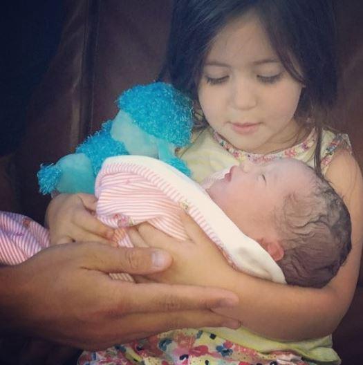 Jacqueline Jossa's daughters Ella and Mia