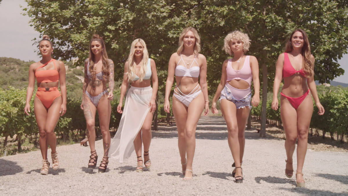 Love Island new arrivals