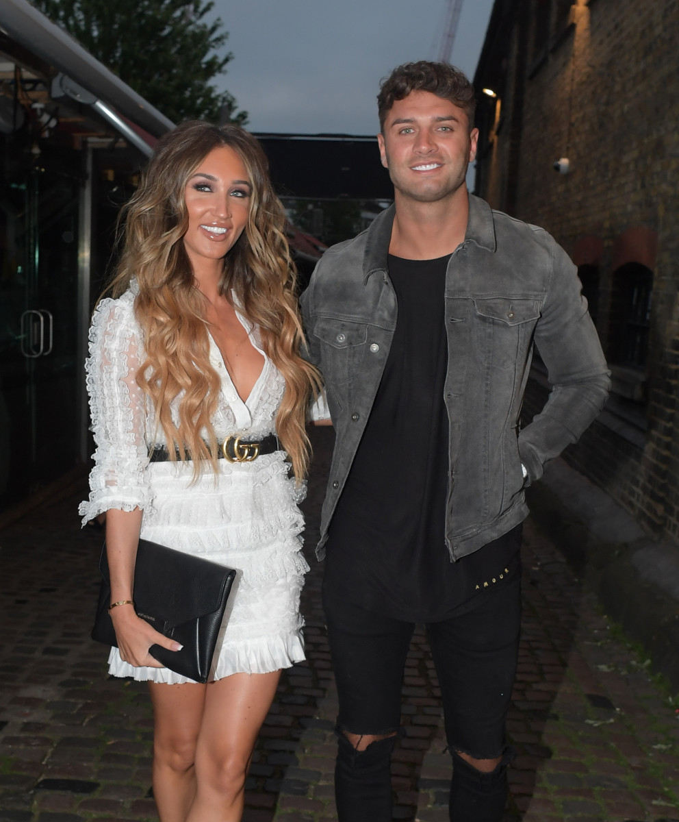 Megan McKenna and Mike Thalasittis, Love Island 2018 Launch Screening at Fest Camden