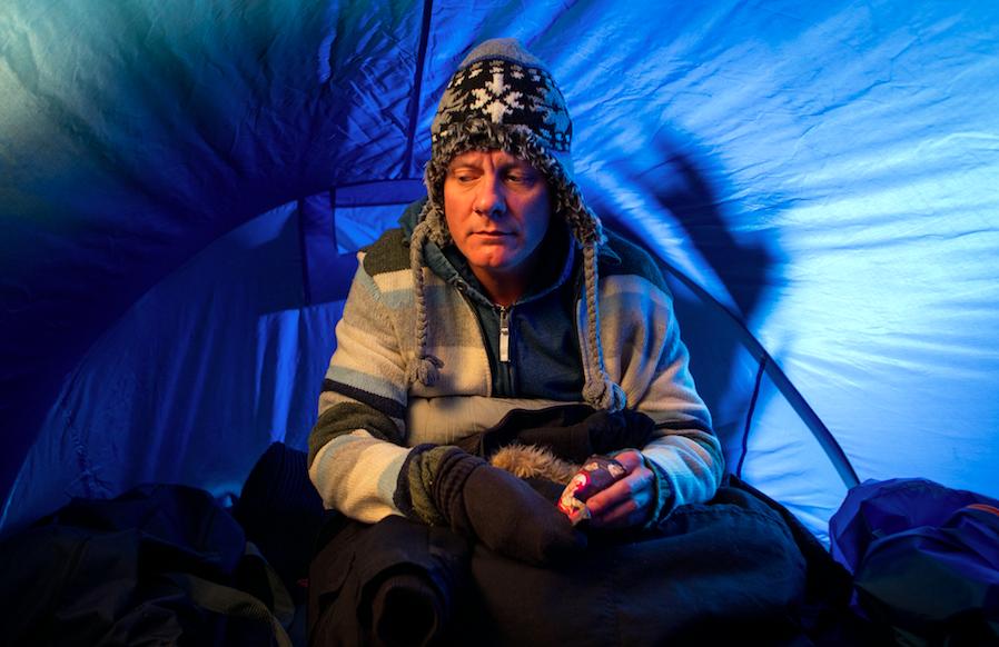 Sean Tully homeless Coronation Street