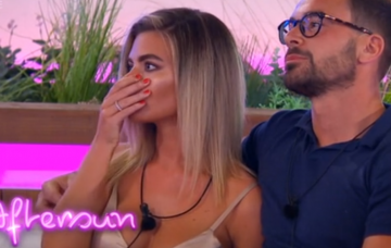 Megan and Alex Love Island (Credit: ITV2)