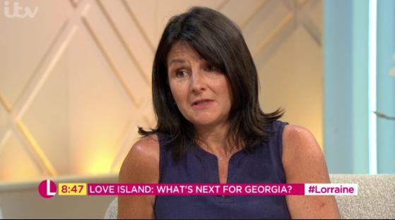 Love Island Georgia Steel's mum slams Josh Denzel