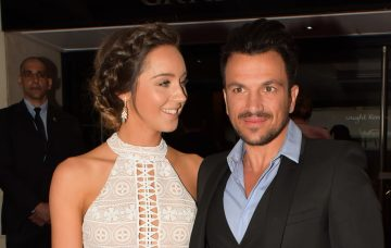 Emily and Peter Andre, Lorraine High Street Fashion Awards Red Carpet Arrivals In London
