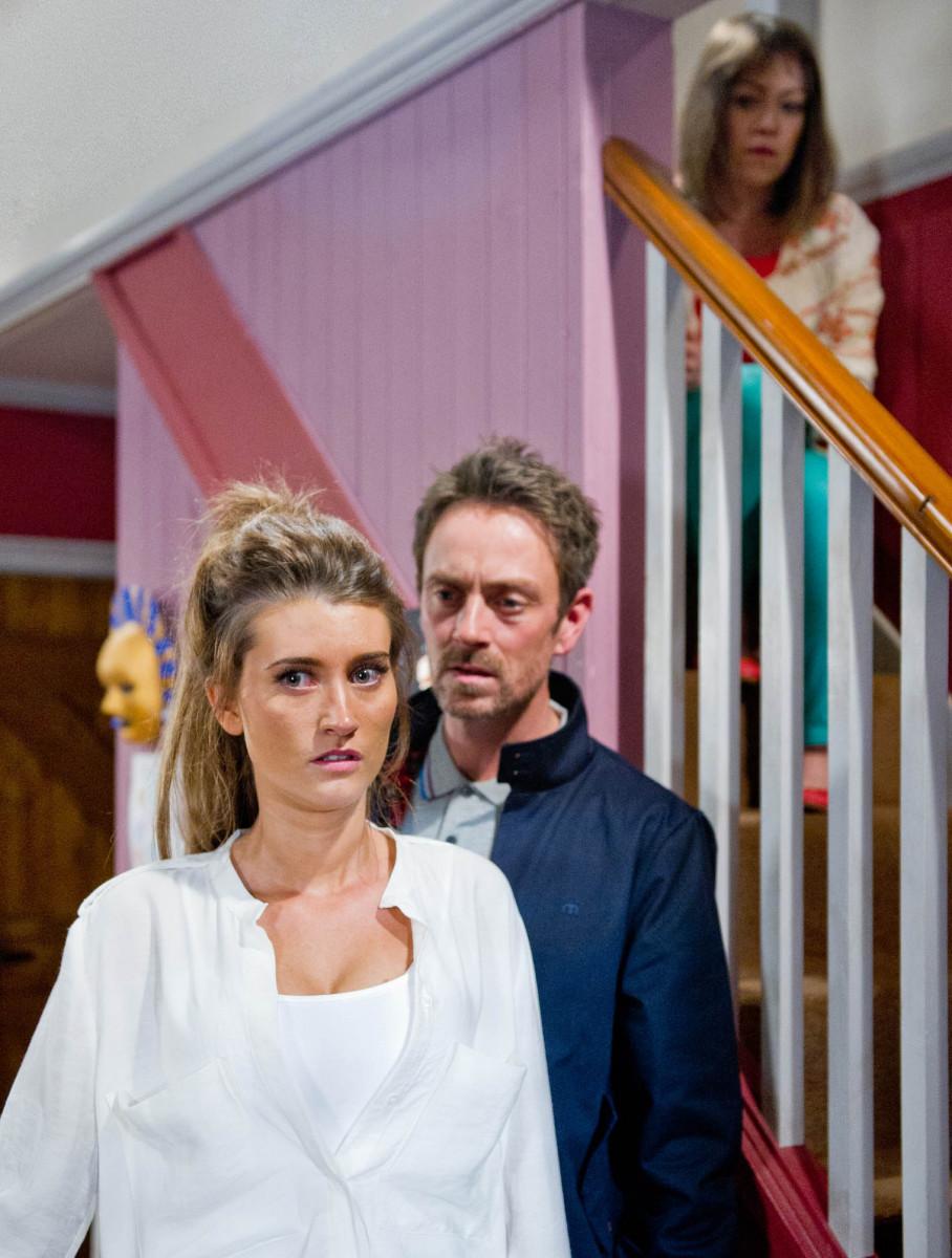 Debbie Dingle and Cameron Murray affair Emmerdale