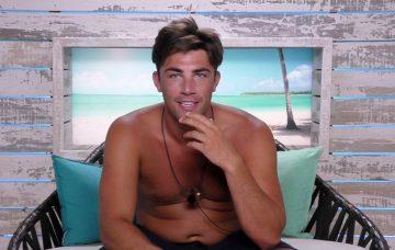 Love Island's Jack Fincham in the beach hut