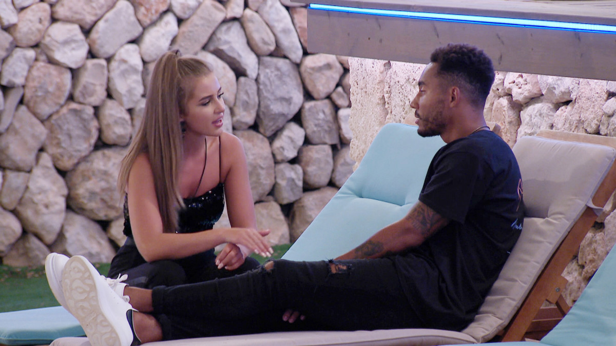 Love Island's Georgia Steel confronts Josh Denzel about dumping her when she stayed loyal
