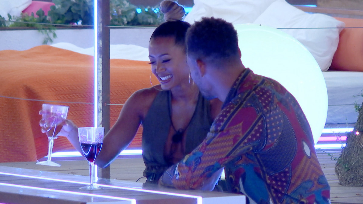 Love Island's Josh talks to Kaz about how much he fancies her