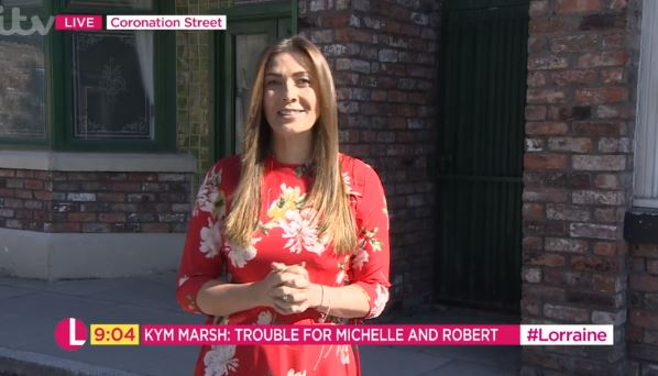 """Kym Marsh says new romance with Scott Ratcliff is """"lovely"""""""
