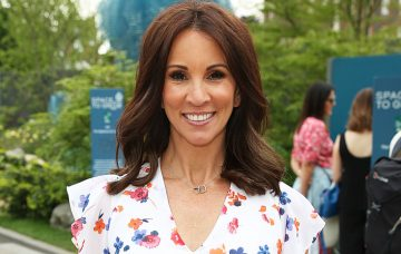Andrea McLean, The RHS Chelsea Flower Show 2018 - Press Day, London UK, 21 May 2018,