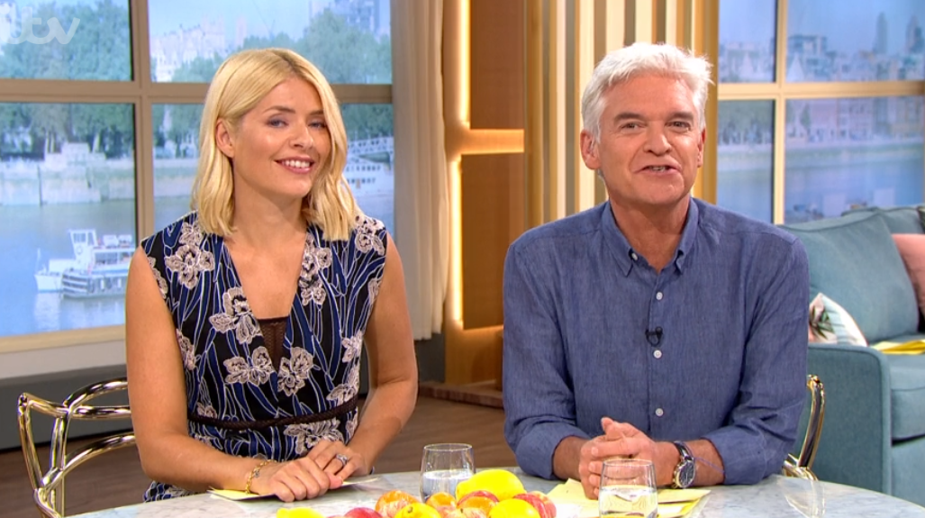 phillip-schofield and Holly Willoughby on This Morning