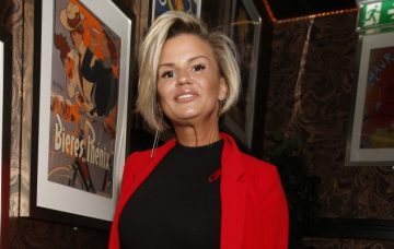 Kerry Katona, Arrivals At The Kris James Launch In London
