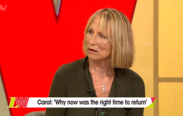 carol-mcgiffin on Loose Women after five years away