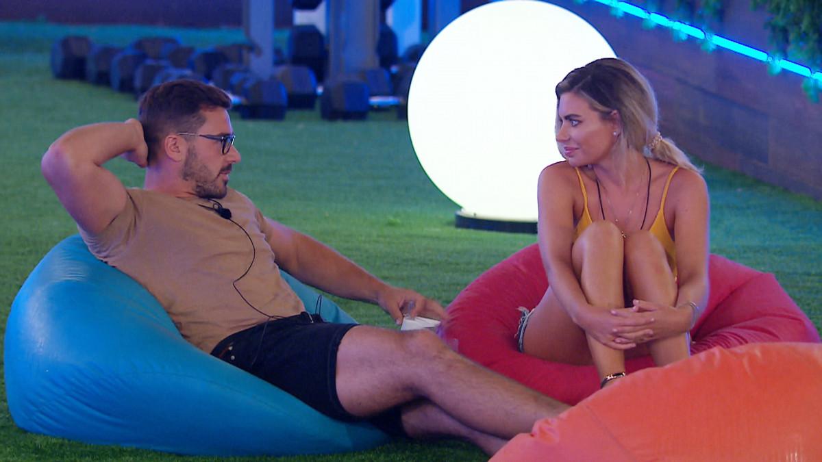 Love Island's Alex Miller and Megan talk