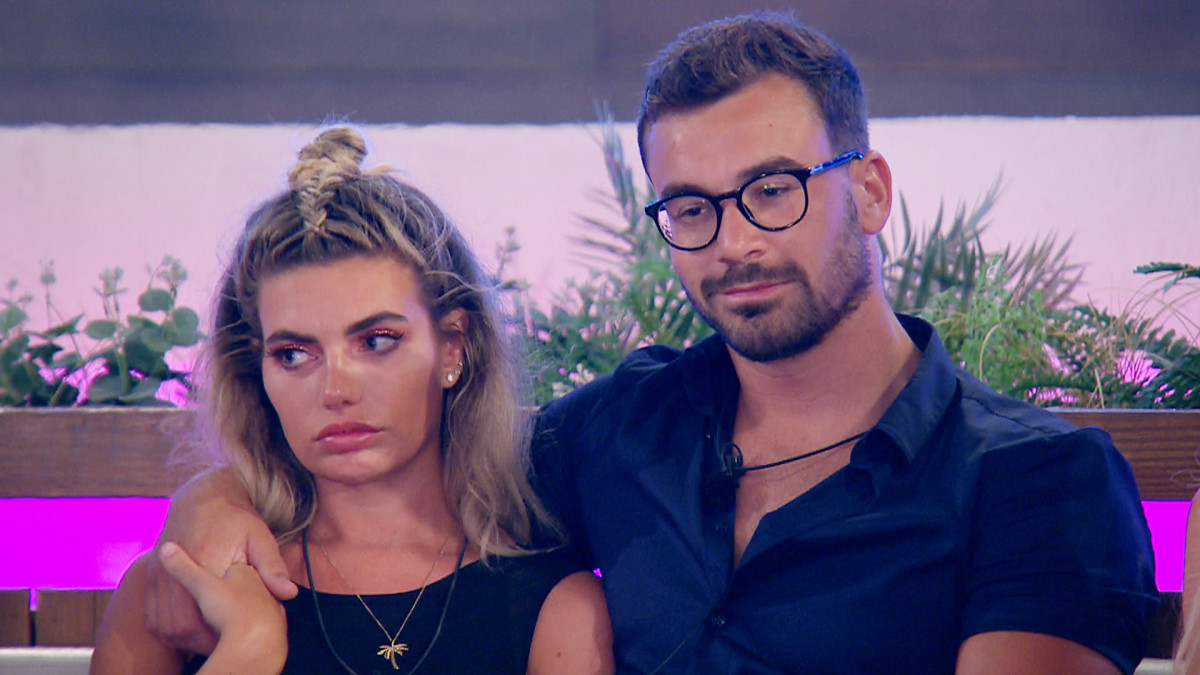 Love Island's Alex Miller and Megan wait for results of dumping