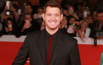 Michael Buble On The Red Carpet At The Rome Film Festival 2016