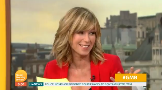 Kate Garraway forced to change her outfit three times on GMB