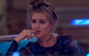 Love Island's Laura is unhappy with Georgia