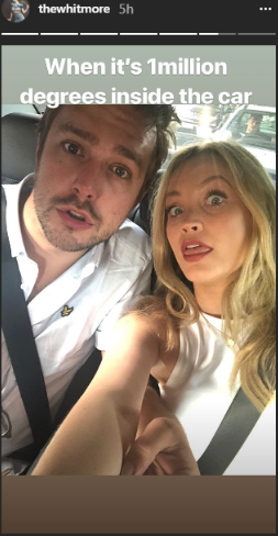 laura whitmore and Iain Stirling (Credit: Instagram)